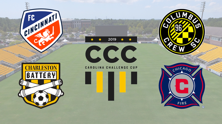 FC Cincinnati to play in 2019 Carolina Challenge Cup