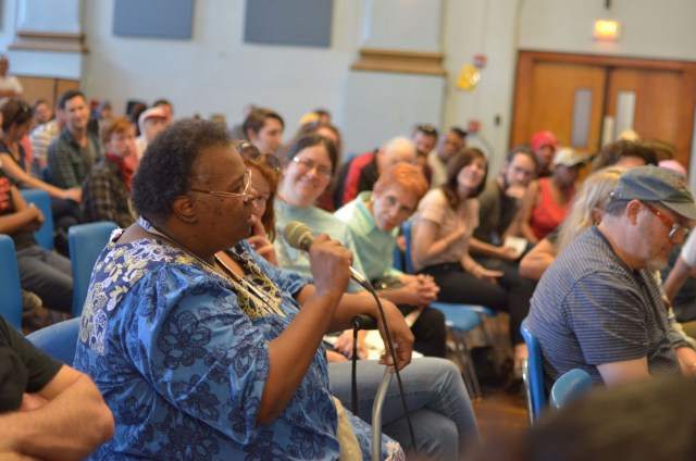 OTR resident gives a powerful speech about ongoing racism in Cincinnati Photo: John Bealle