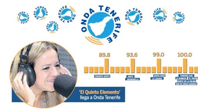 ESCRIBE TU RELATO DE MARZO (III): @MariaMonteroTFE #ElQuintoElemento DE ONDA TENERIFE