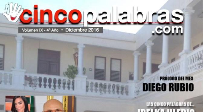 REVISTA SOLIDARIA DE CINCO PALABRAS VOLUMEN IX – 4º AÑO