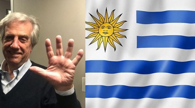 ESCRIBE TU RELATO DE JULIO (IV): PRESIDENTE DE URUGUAY Tabaré Vázquez @SCpresidenciauy