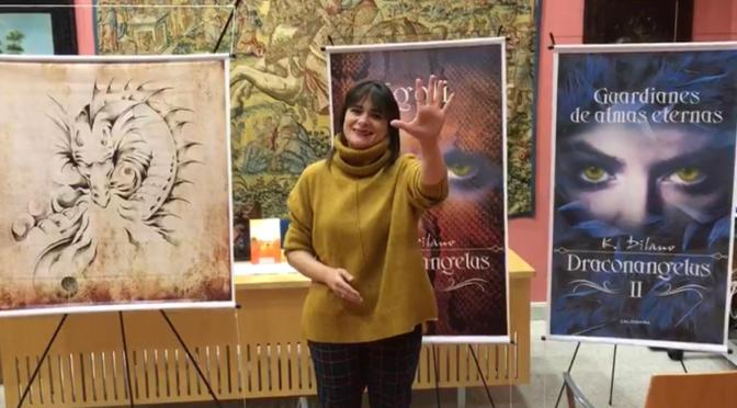 ESCRIBE TU RELATO DE DICIEMBRE (III): K. Dilano, escritora