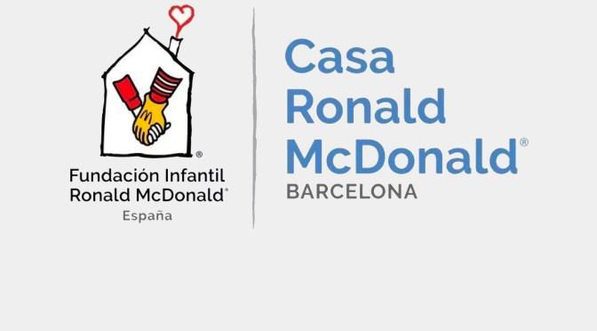 LA CAUSA DEL MES DE ABRIL: CASA RONALD McDONALD – BARCELONA