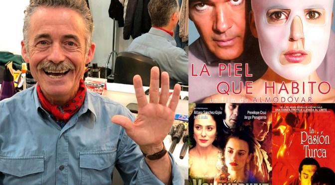 ESCRIBE TU RELATO DEL MES DE  SEPTIEMBRE (V):  MANUEL CARREÑO, ESTILISTA de cine