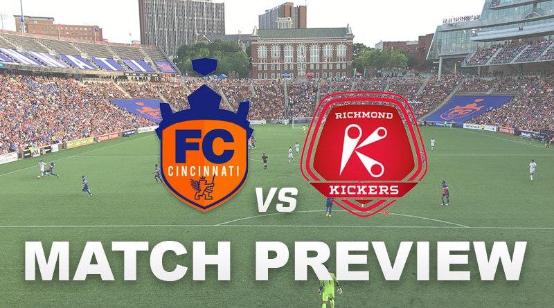 FC Cincinnati vs Richmond Kickers Match Preview | Cincy Soccer
