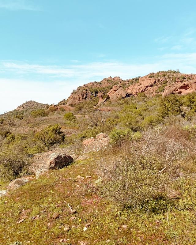 roquebrune sur argens randonnée rocher