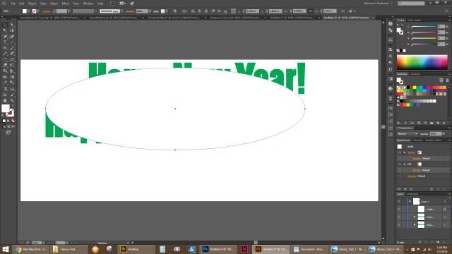 Create an ellipse.