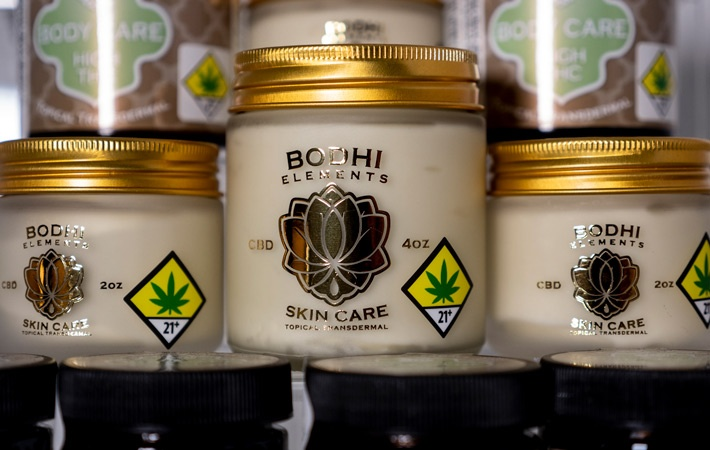 CBD and THC together