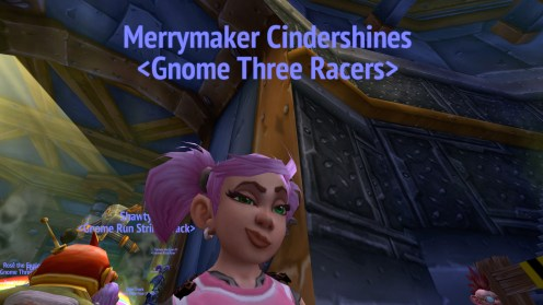 This gnome is ready to run!