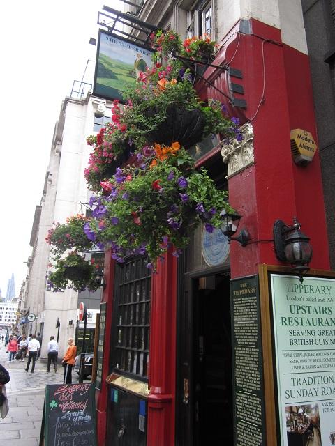 The Tipperary facade