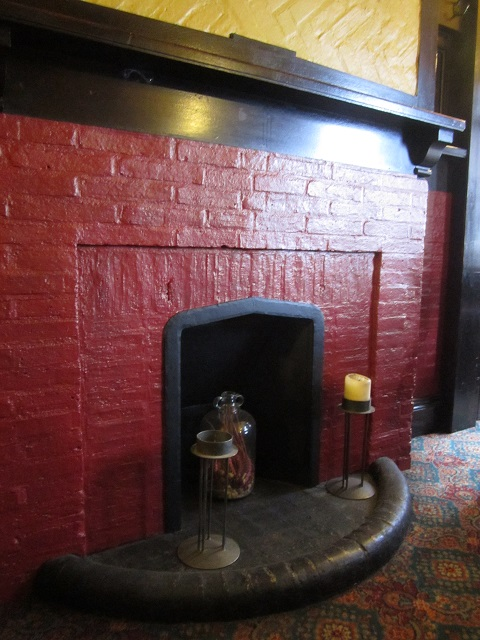 The Tipperary interior fireplace