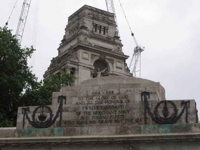 London Navy monument