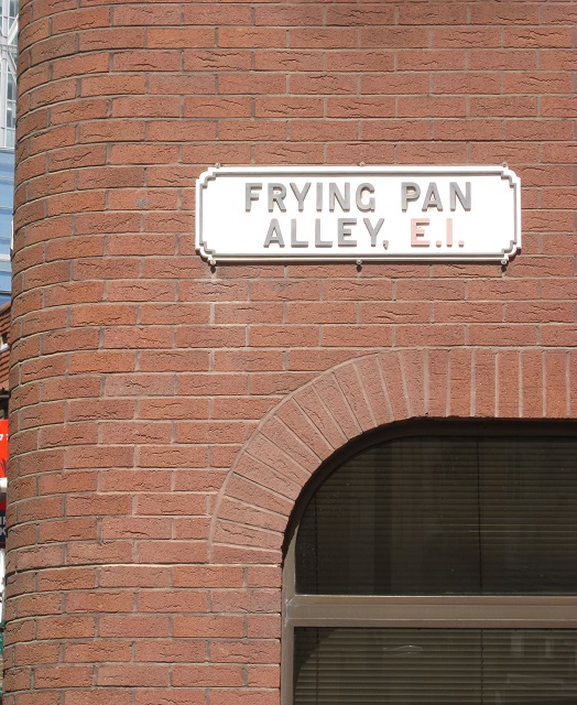 Frying Pan Alley sign