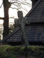 Fantoft Stave Church in Bergen