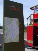 outside the Ulriken cable car entrance - June 4, 2009