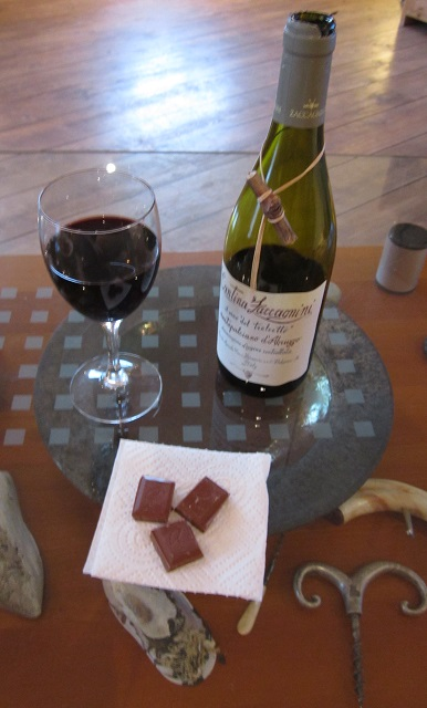 2014-03-15 - Norwegian chocolate and wine!
