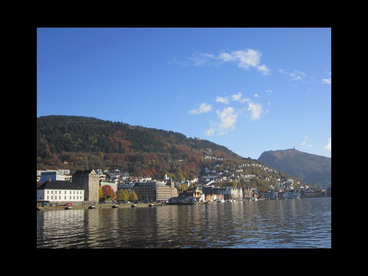 October 30, 2013 - Bergen harbor, Norway