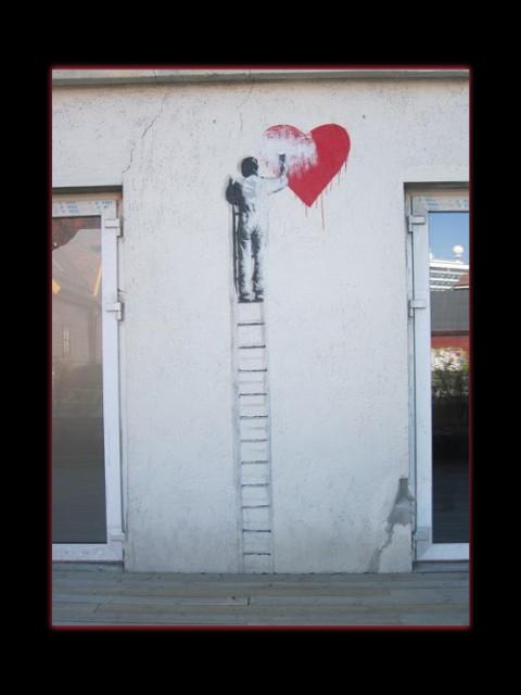 """July 23, 2014 - Bergen """"graffiti"""" in the Skuteviken area"""
