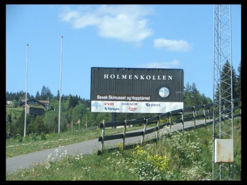 June 2006 - Holmenkollen in Oslo, Norway