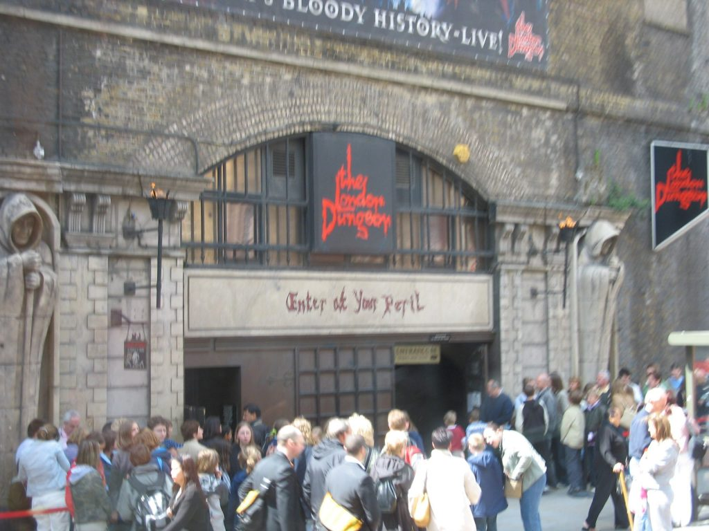 Entrée du London Dungeon
