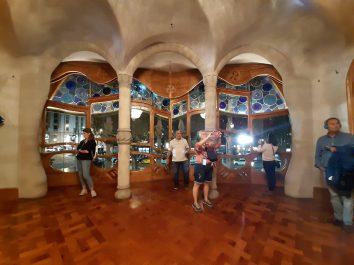 Intérieur de la Casa Batllo