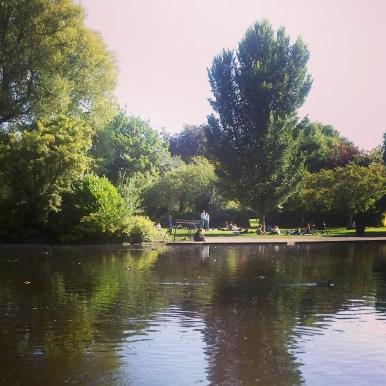 St Stephan's Green où je me promenais souvent