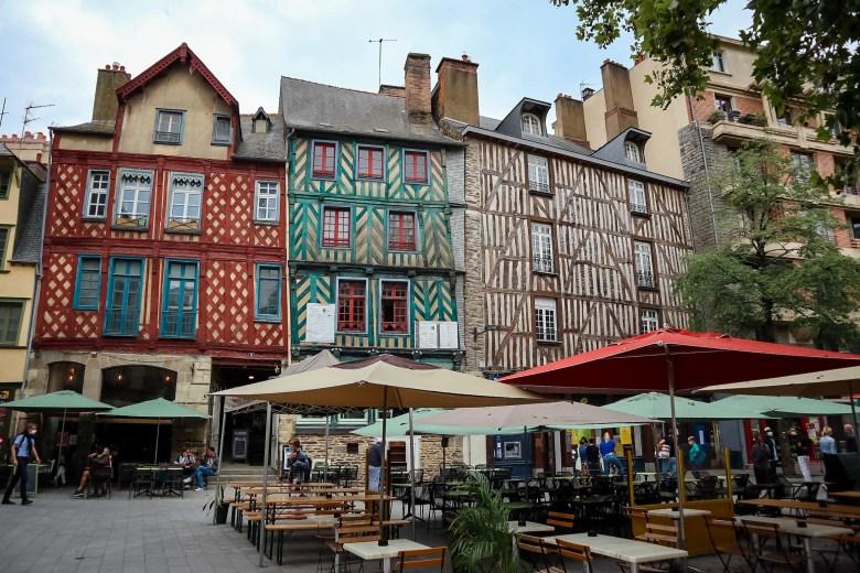 Place Saint-Anne, Rennes