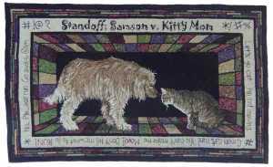Standoff: Samson v. Kitty Mom