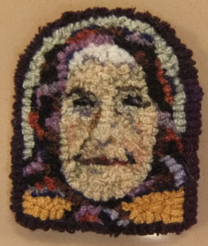 Babooshka Woman hooked by Tish Murphy