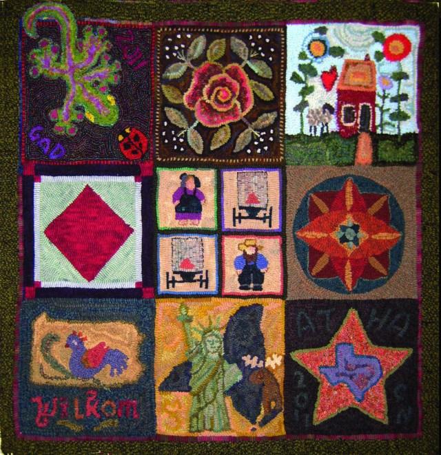 ATHA raffle rug