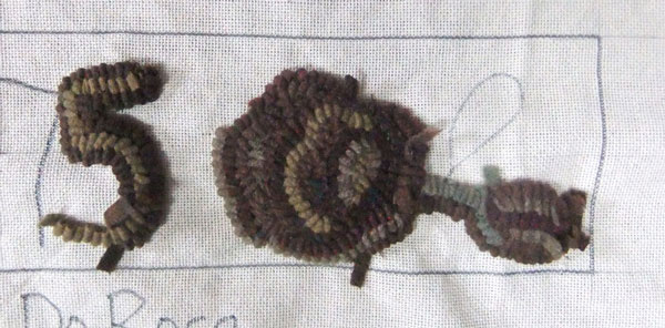 Primitive Rose attempt in dull colors