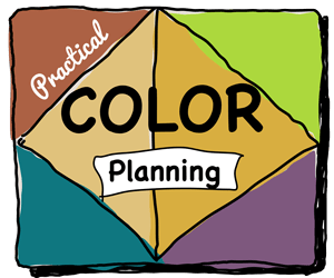 Practical Color Planning for Rug Hookers online course hosted by Cindi Gay at howtorughook.com