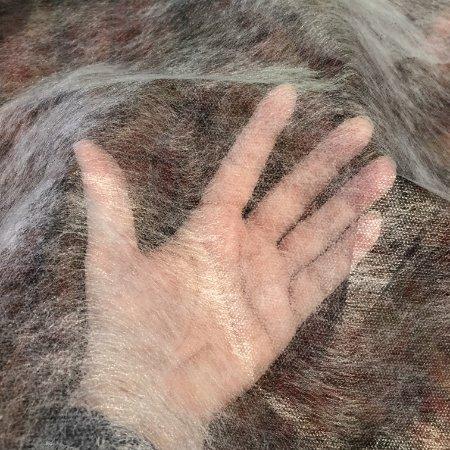 Dotless red dot for transferring rug hooking patterns