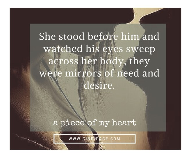 A Piece of My Heart Romance Novel by Cindi Page