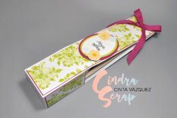 Pochette Cadeau Hôtesse Ravissant Bouquet