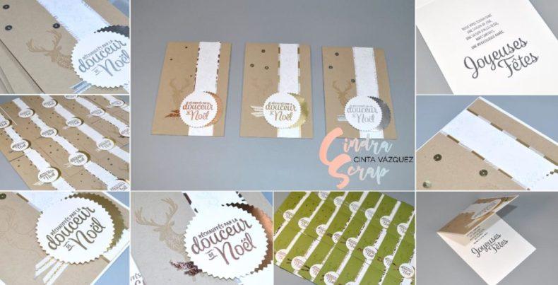 Cartes de vœux Souhaits en rafales et Joyeux Motifs