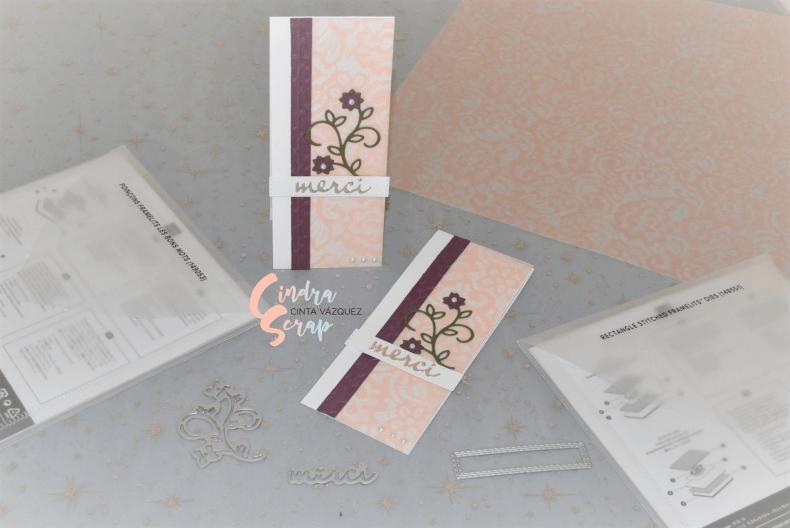 """Cartes de remerciement """"Les Bons Mots"""""""