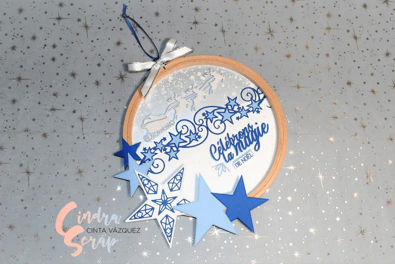 Tambour Tant d'étoiles et Joie de Noël