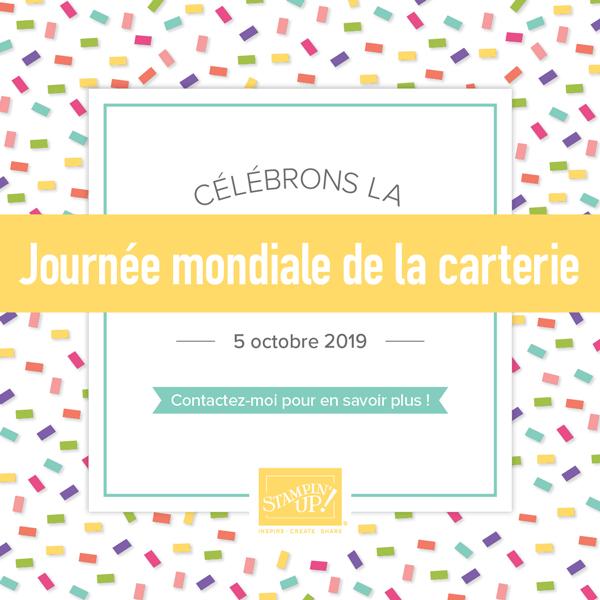 JOURNÉE MONDIALE DE LA CARTERIE