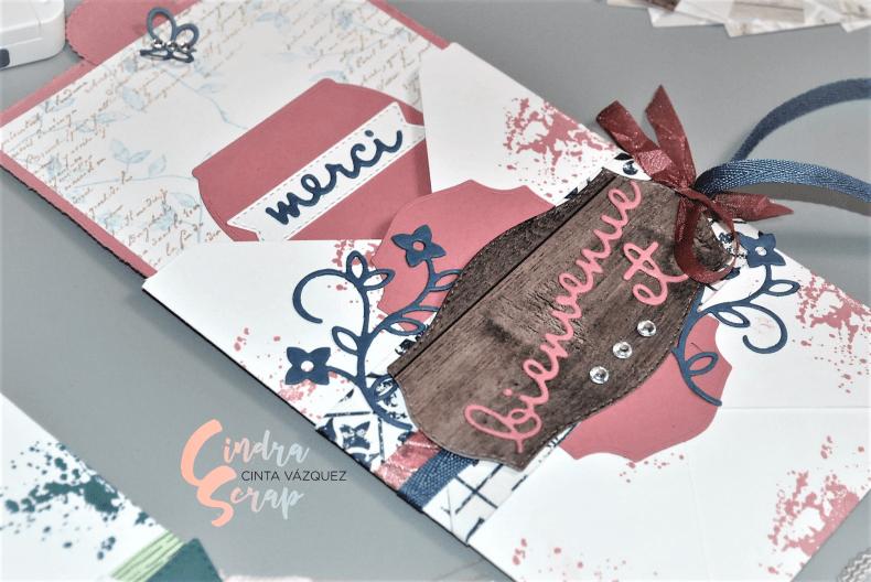 Cartes enveloppes Bienvenue Les bons mots
