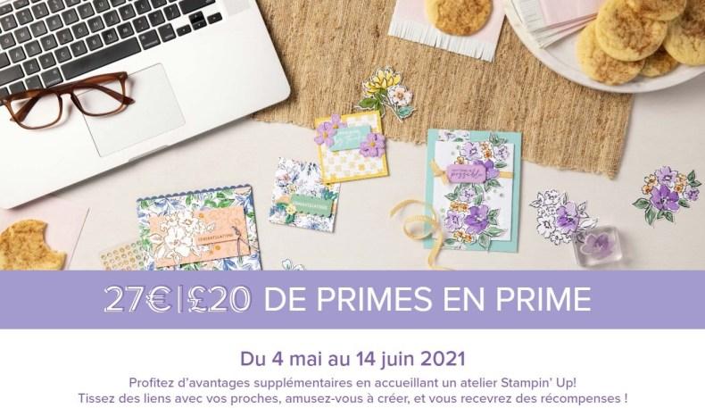 Catalogue Annuel 2021-2022  STAMPIN'UP! De Primes en prime