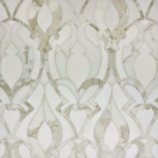 Artistic Tile Damask Blanc