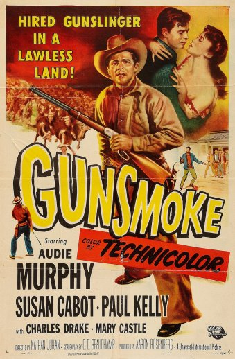 1953 Western directed by Nathan Juran and co-starring Susan Cabot, Paul Kelly, and Charles Drake.