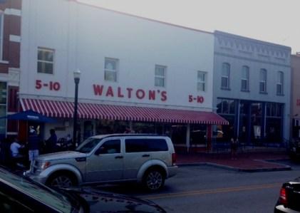 Bentonville Square Walton 5 and 10e
