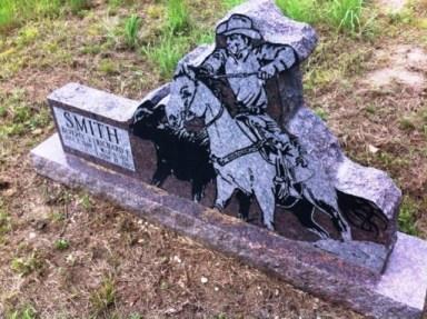 geocaching Sherwood Cemetery tombstone e