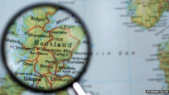 Scottish map