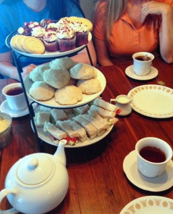 afternoon tea party e