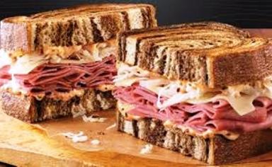 Arbys reuben sandwich e