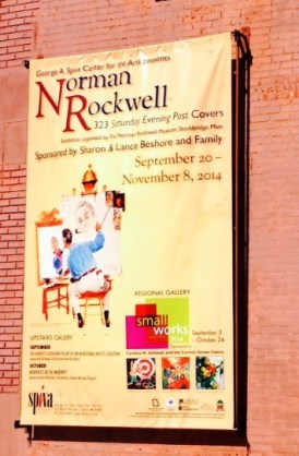 Norman Rockwell Spiva Exhibit