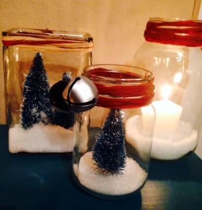 Christmas jars grouping